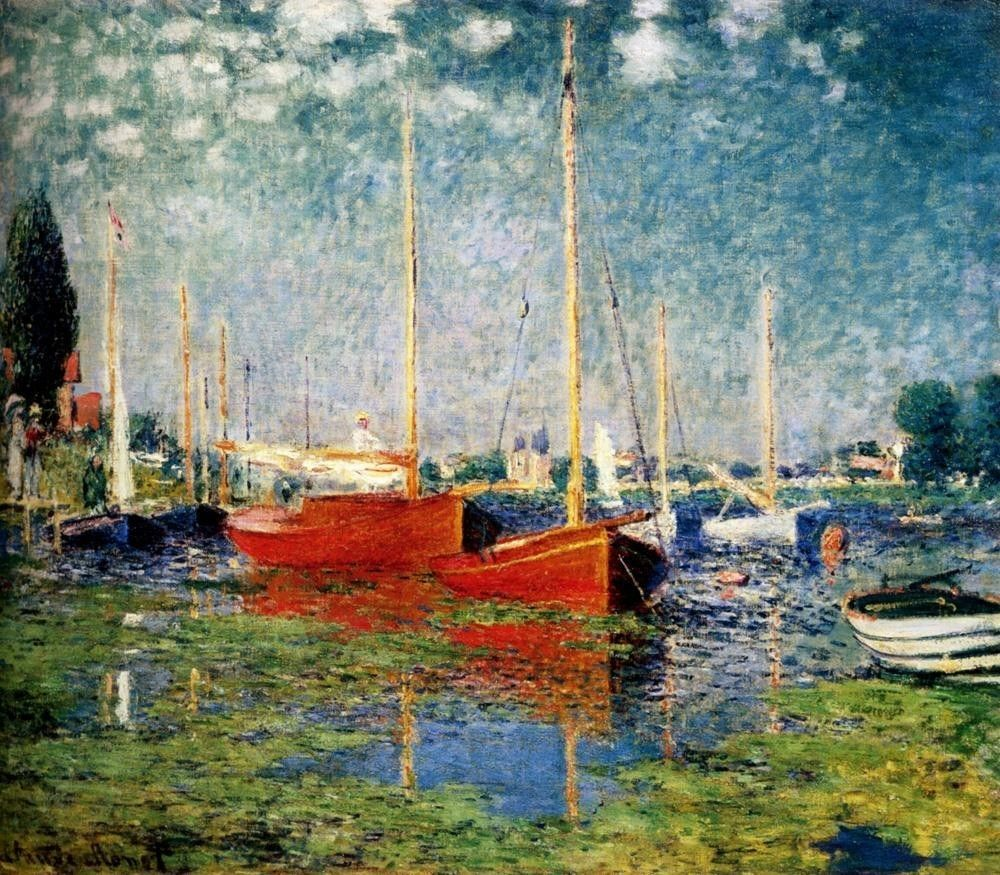 Claude Monet The Red Boats