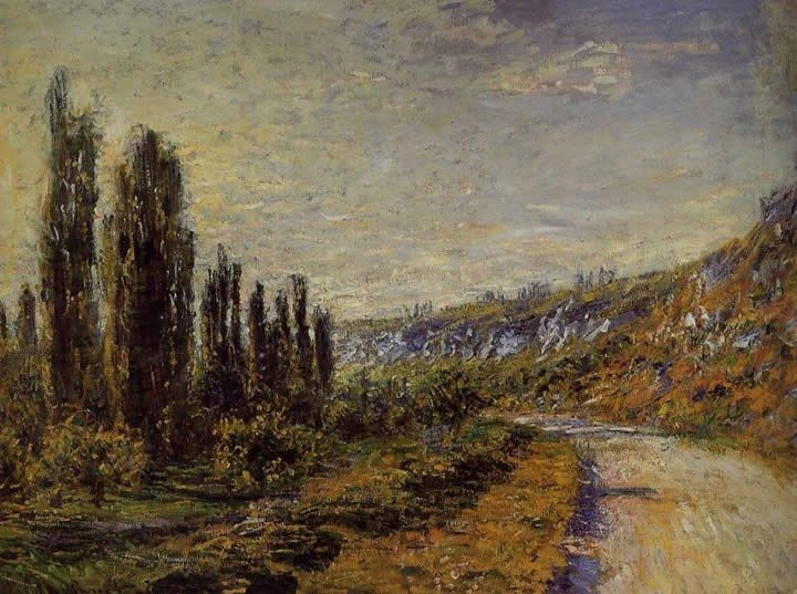 Claude Monet The Road from Vetheuil