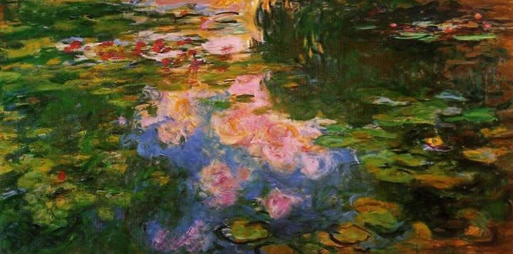 Claude Monet The Water-Lily Pond 9
