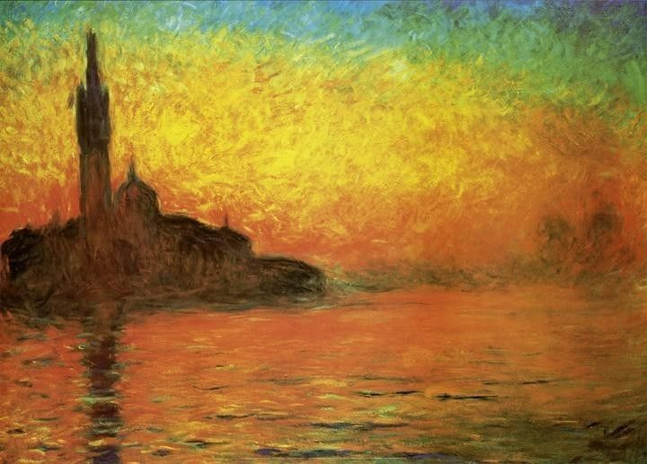 Claude Monet Venice Twilight Dusk