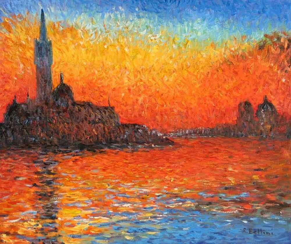 Claude Monet Venice Twilight