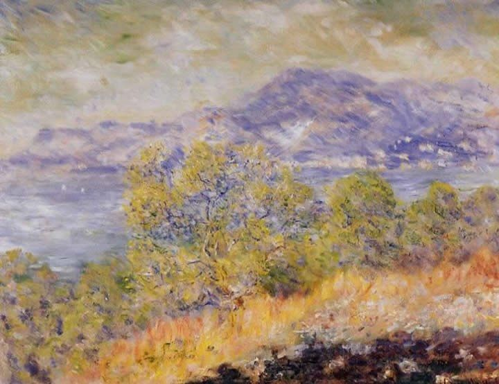 Claude Monet View Taken near Ventimiglia