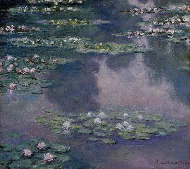 Claude Monet Water-Lilies 36