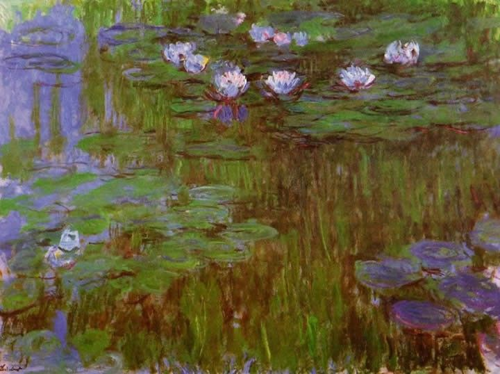 Claude Monet Water-Lilies 44