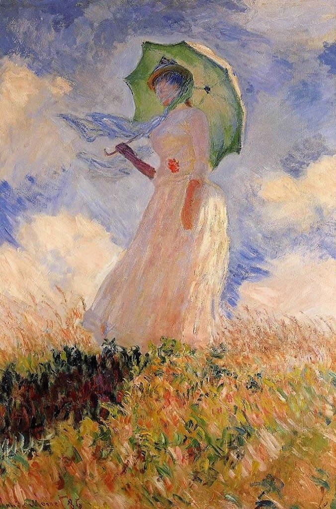 Claude Monet Woman with a Parasol 1
