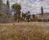 Claude Monet A Meadow painting
