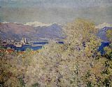 Claude Monet Antibes painting