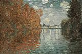 Claude Monet Autumn Effect At Argenteuil painting