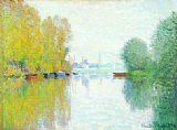 Claude Monet Autumn on the Seine, Argenteuil painting