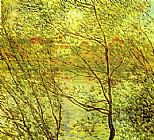 Claude Monet Banks of the Seine painting