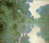 Claude Monet Branch of the Seine near Giverny painting
