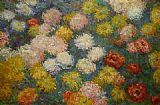 Claude Monet Chrysanthemums 3 painting
