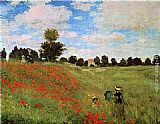 Claude Monet Corn Poppies painting