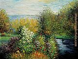 Claude Monet Corner of the Garden at Montgeron painting