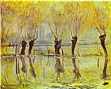 Claude Monet Flood at Giverny painting