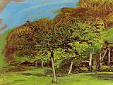 Claude Monet Fruit Trees painting