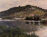 Claude Monet Landscape at Port-Villez painting