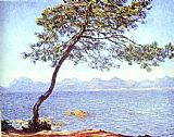 Claude Monet Mountains at l'Esterel painting