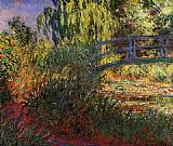 Claude Monet Path along the Water-Lily Pond painting