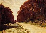 Claude Monet Road in a Forest painting