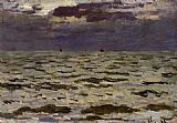 Claude Monet Seascape painting