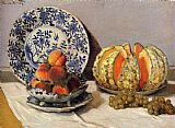 Claude Monet Still Life With Melon painting