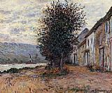 Claude Monet The Banks of the Seine painting