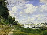 Claude Monet The Basin at Argenteuil painting