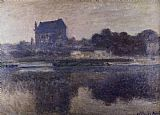 Claude Monet The Church Of Vernon In The Mist painting