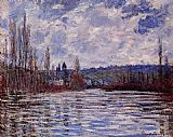 Claude Monet The Flood of the Seine at Vetheuil painting
