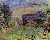 Claude Monet The House Seen through the Roses painting