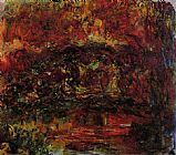 Claude Monet The Japanese Bridge 10 painting