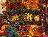Claude Monet The Japanese Bridge 11 painting