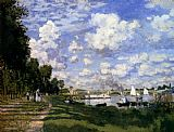 Claude Monet The Marina At Argenteuil painting