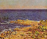 Claude Monet The Meditarranean at Antibes 1 painting