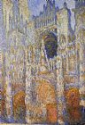 Claude Monet The Portal of Rouen Cathedral at Midday painting