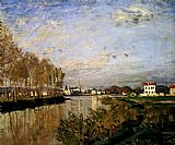Claude Monet The Seine At Argenteuil painting