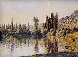 Claude Monet The Seine at Vetheuil 3 painting