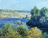 Claude Monet The Seine at Vetheuil 4 painting