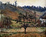 Claude Monet The Valley Of Falaise painting