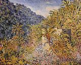 Claude Monet The Valley of Sasso painting