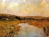 Claude Monet The Valley of the Scie at Pouville painting