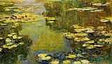 Claude Monet The Water-Lily Pond 4 painting