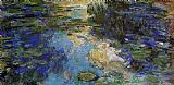 Claude Monet The Water-Lily Pond 6 painting