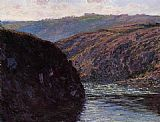 Claude Monet Valley of the Creuse Afternoon Sunlight painting