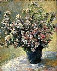 Claude Monet Vase Of Flowers painting