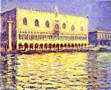Claude Monet Venice The Doge Palace painting