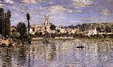 City paintings - Vetheuil In Summer by Claude Monet