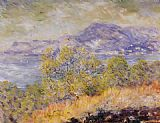 Claude Monet View Taken near Ventimiglia painting