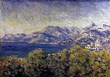 Claude Monet View of Ventimiglia painting